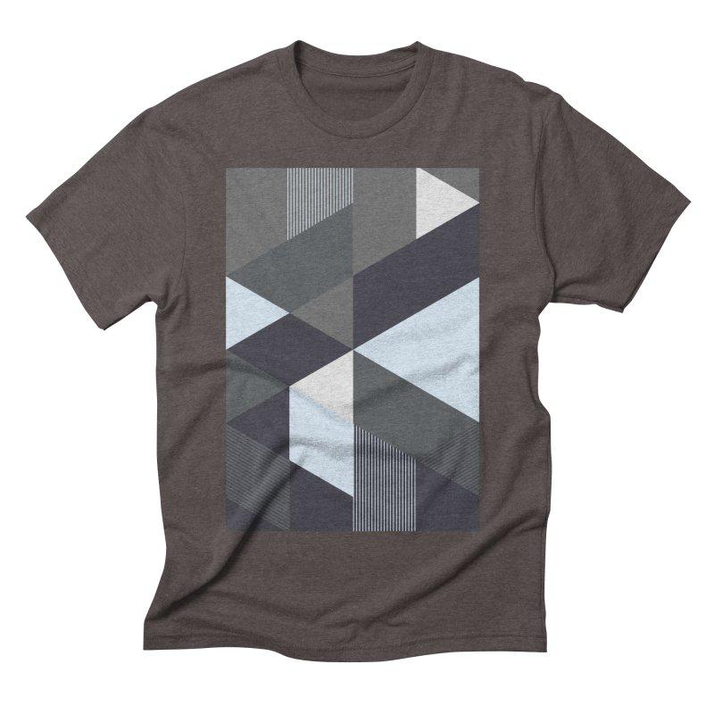 Block Colors Men's Triblend T-Shirt by zeroing 's Artist Shop