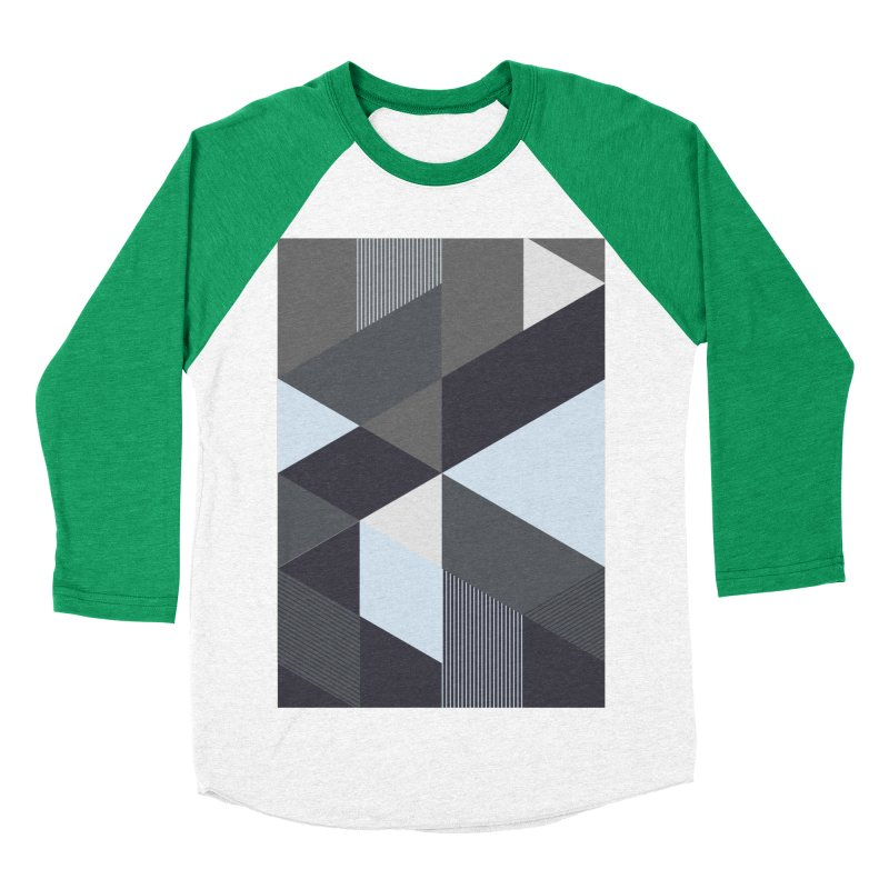 Block Colors Women's Baseball Triblend Longsleeve T-Shirt by zeroing 's Artist Shop