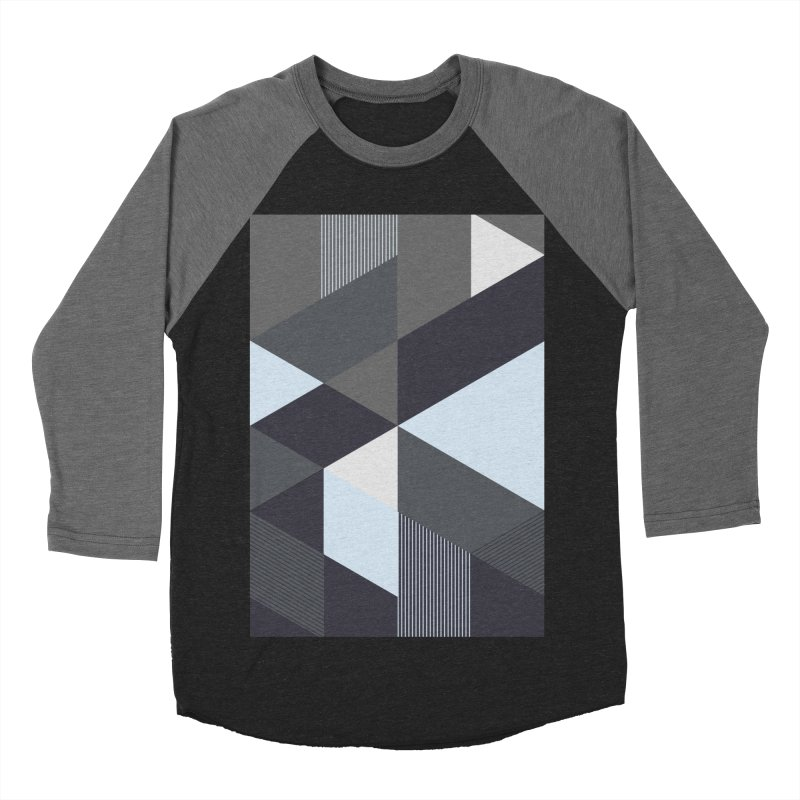 Block Colors Men's Baseball Triblend Longsleeve T-Shirt by zeroing 's Artist Shop