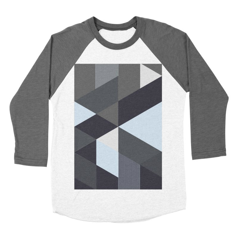 Block Colors Men's Baseball Triblend Longsleeve T-Shirt by zeroing 's Artist Shop