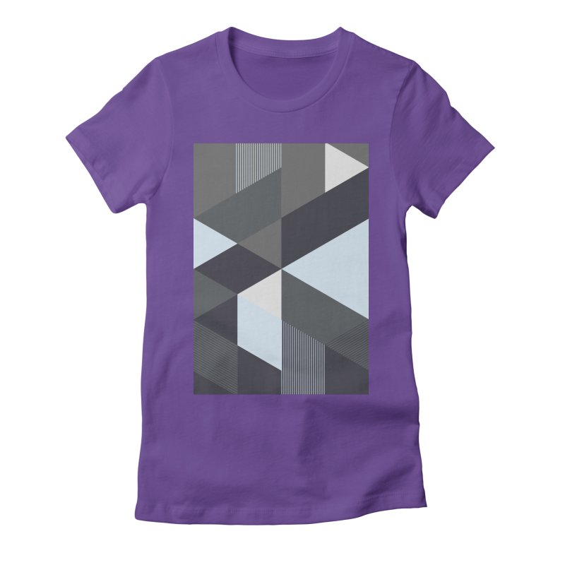 Block Colors Women's Fitted T-Shirt by zeroing 's Artist Shop