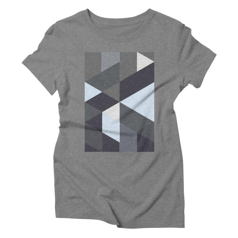 Block Colors Women's Triblend T-Shirt by zeroing 's Artist Shop