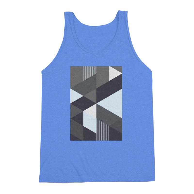 Block Colors Men's Triblend Tank by zeroing 's Artist Shop