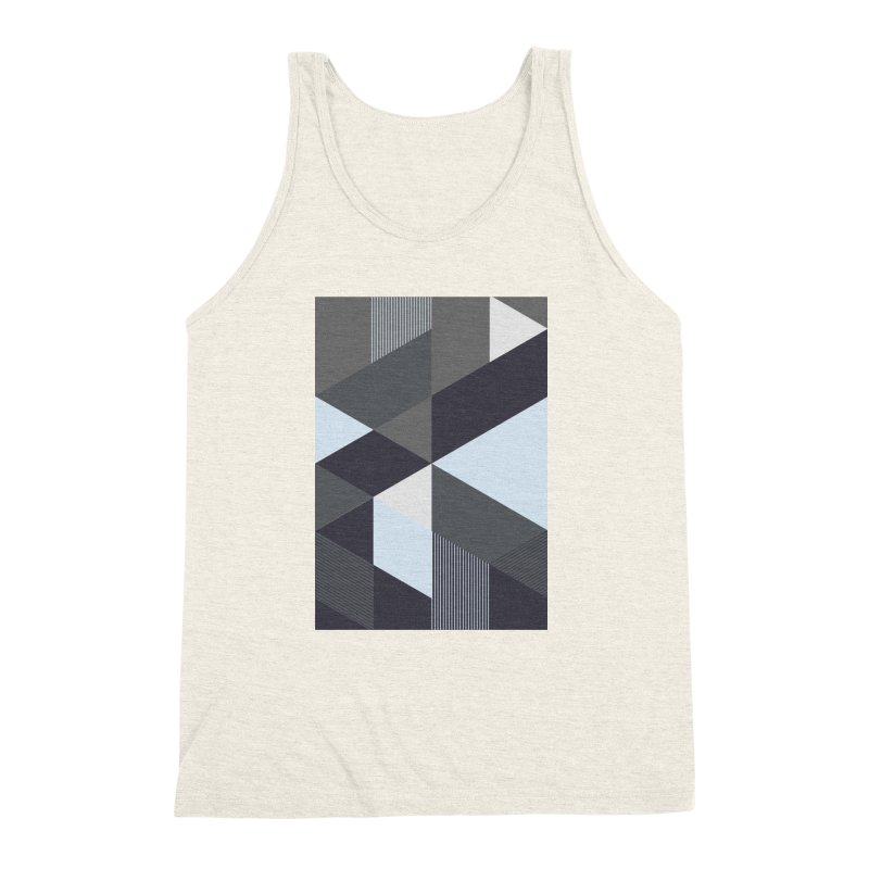 Block Colors Men's Triblend Tank by zeroing 's Artist Shop