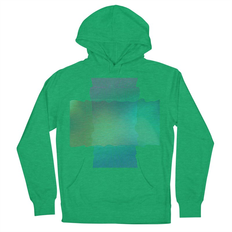 Sonic Neon Women's French Terry Pullover Hoody by zeroing 's Artist Shop