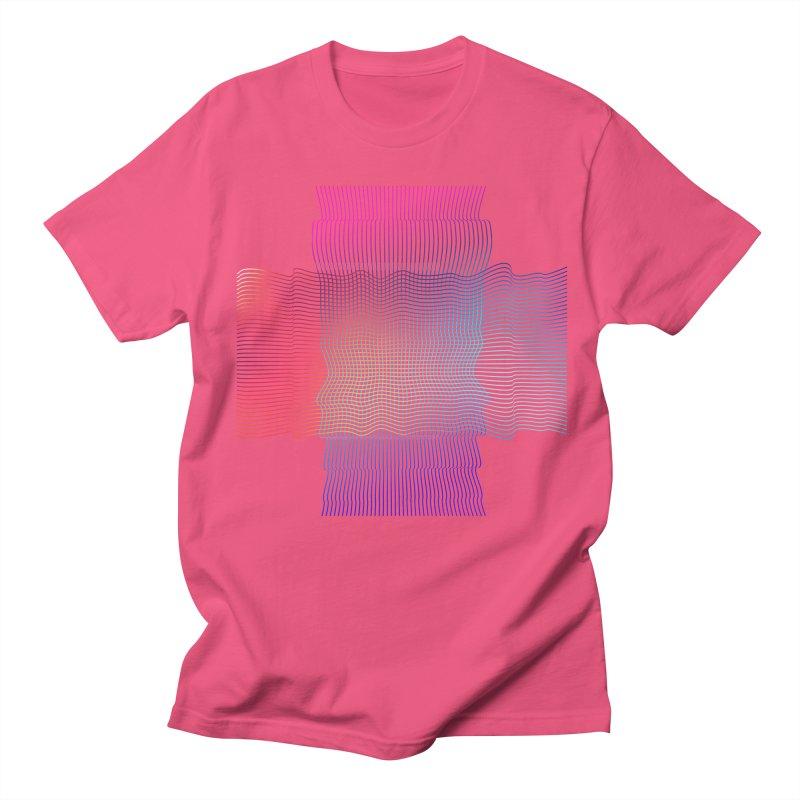 Sonic Neon Men's Regular T-Shirt by zeroing 's Artist Shop