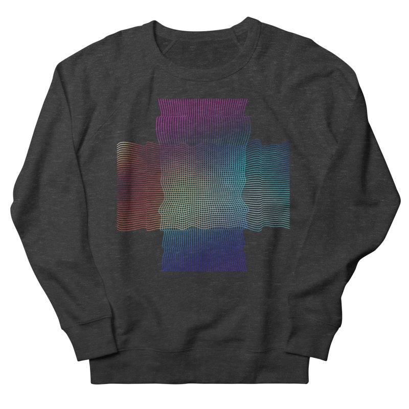 Sonic Neon Men's French Terry Sweatshirt by zeroing 's Artist Shop