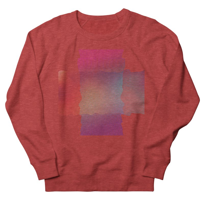 Sonic Neon Men's French Terry Sweatshirt by zeroing 's Artist Shop