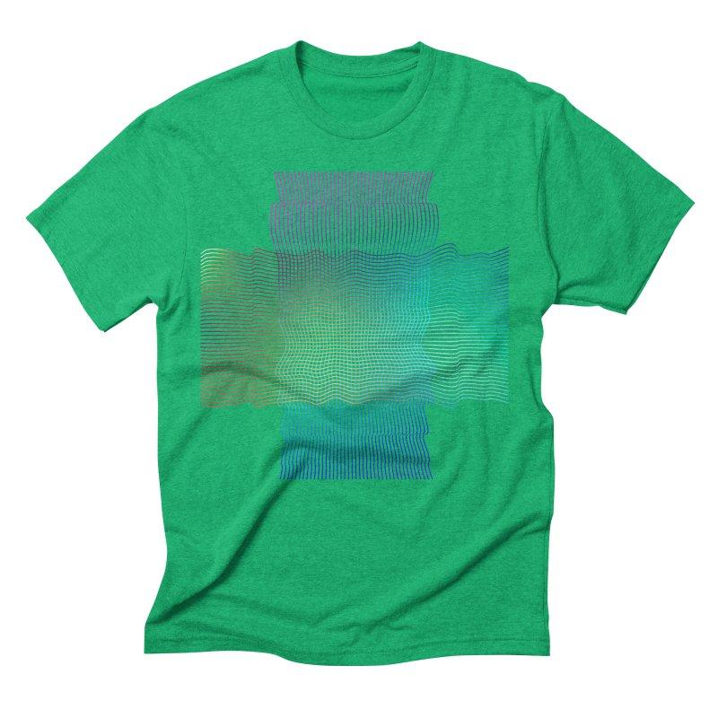 Sonic Neon Men's Triblend T-Shirt by zeroing 's Artist Shop