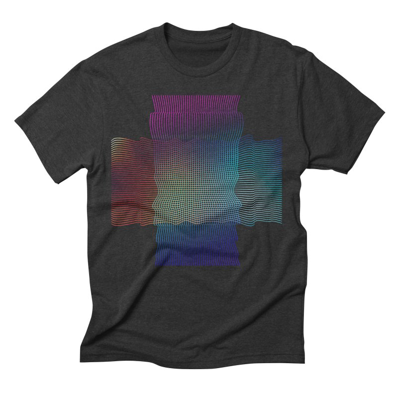 Sonic Neon Men's Triblend T-Shirt by zeroing 's Artist Shop