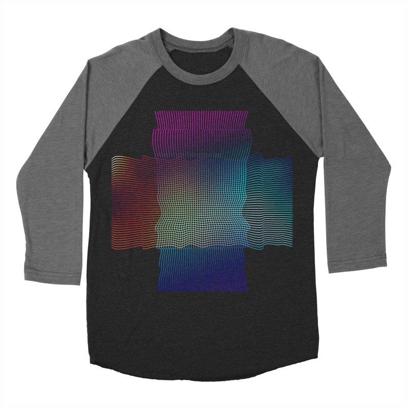 Sonic Neon Men's Baseball Triblend Longsleeve T-Shirt by zeroing 's Artist Shop