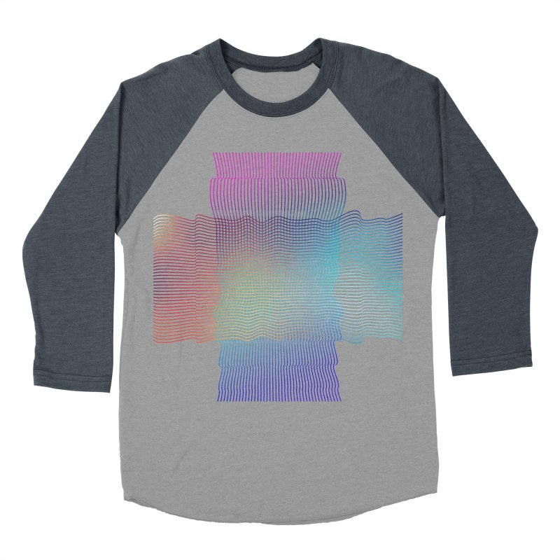 Sonic Neon Men's Baseball Triblend Longsleeve T-Shirt by zeroing 's Artist Shop