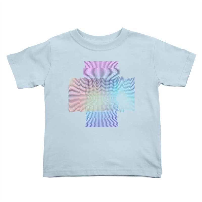 Sonic Neon Kids Toddler T-Shirt by zeroing 's Artist Shop