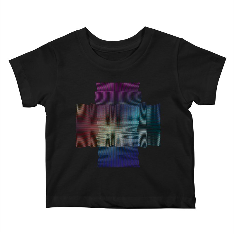 Sonic Neon Kids Baby T-Shirt by zeroing 's Artist Shop