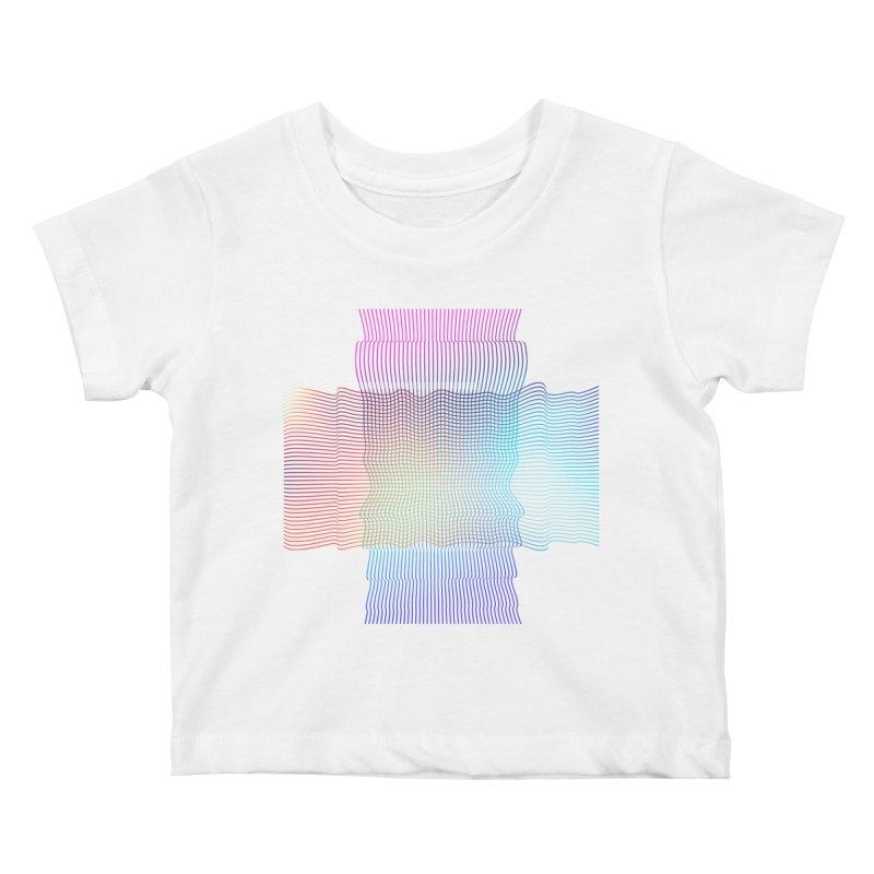 Sonic Neon Kids Baby T-Shirt by zeroing 's Artist Shop