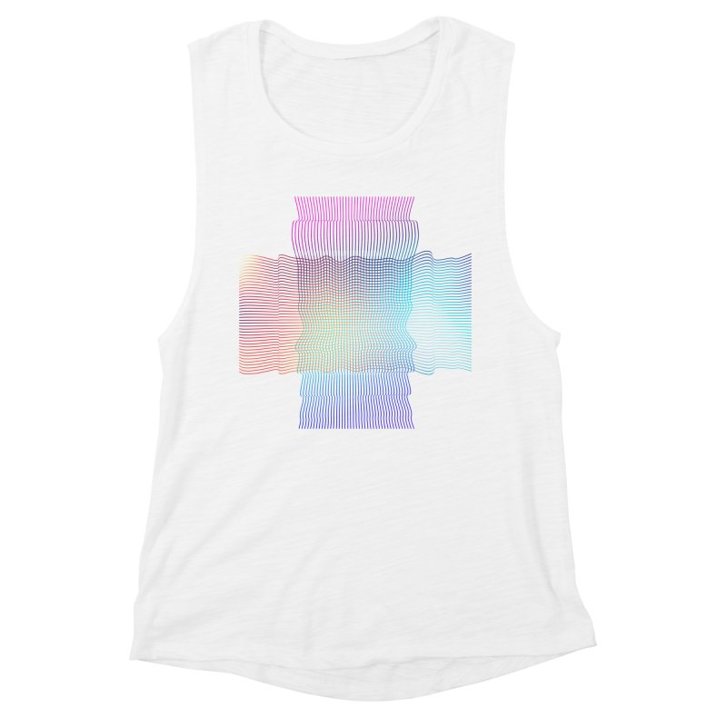 Sonic Neon Women's Muscle Tank by zeroing 's Artist Shop