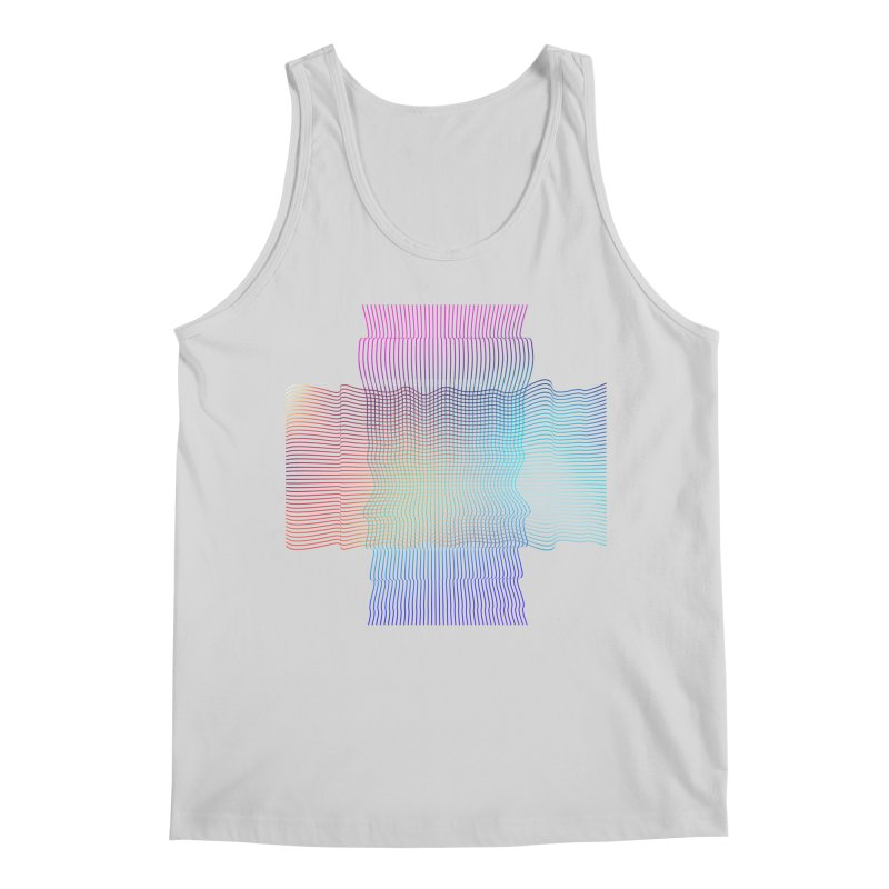 Sonic Neon Men's Regular Tank by zeroing 's Artist Shop