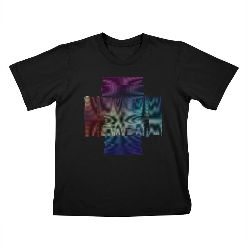 Sonic Neon Kids T-Shirt by zeroing 's Artist Shop