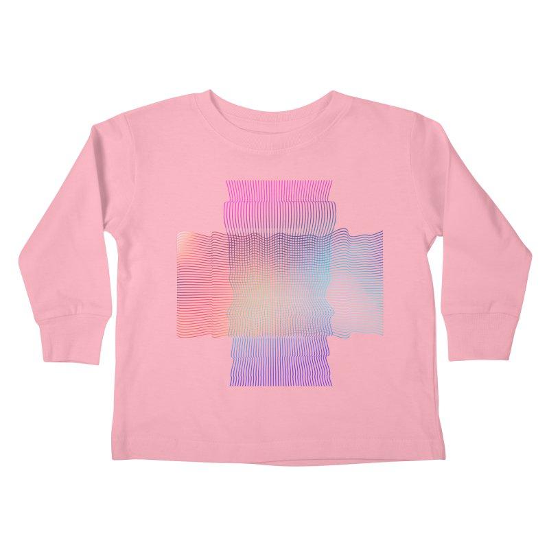Sonic Neon Kids Toddler Longsleeve T-Shirt by zeroing 's Artist Shop