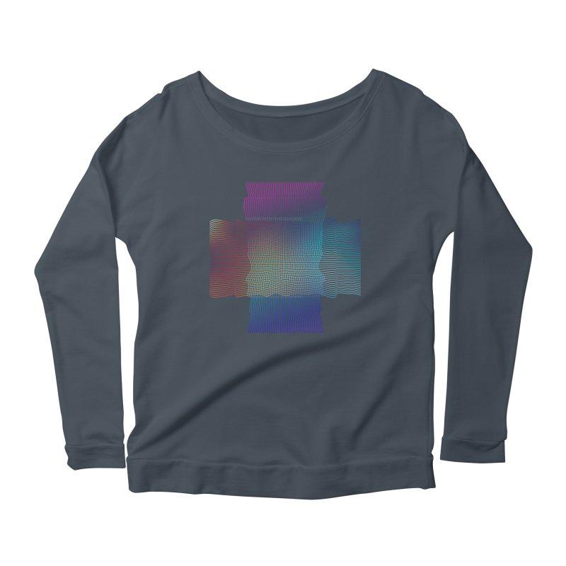 Sonic Neon Women's Scoop Neck Longsleeve T-Shirt by zeroing 's Artist Shop