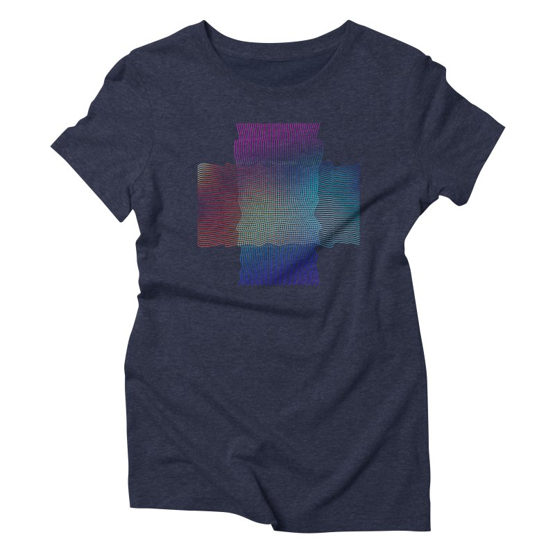 Sonic Neon Women's Triblend T-Shirt by zeroing 's Artist Shop