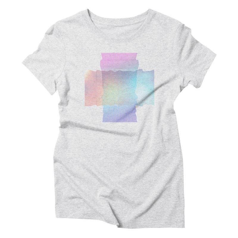 Sonic Neon Women's Triblend T-Shirt by zeroing 's Artist Shop