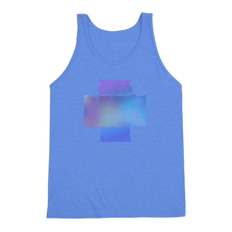 Sonic Neon Men's Triblend Tank by zeroing 's Artist Shop