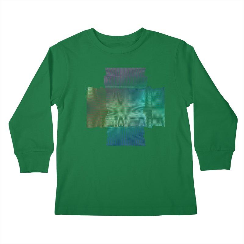 Sonic Neon Kids Longsleeve T-Shirt by zeroing 's Artist Shop