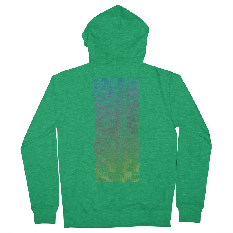 Sonic Neon 2 Men's French Terry Zip-Up Hoody by zeroing 's Artist Shop