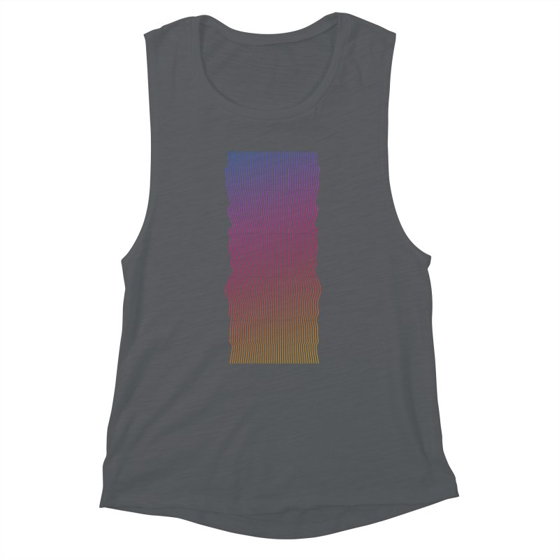 Sonic Neon 2 Women's Muscle Tank by zeroing 's Artist Shop