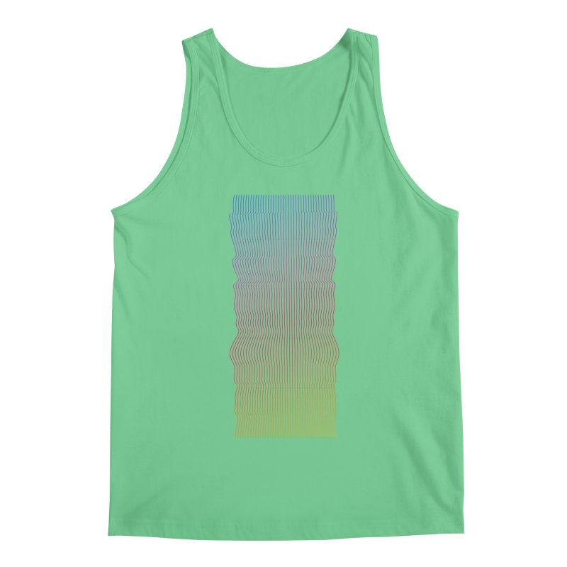 Sonic Neon 2 Men's Regular Tank by zeroing 's Artist Shop