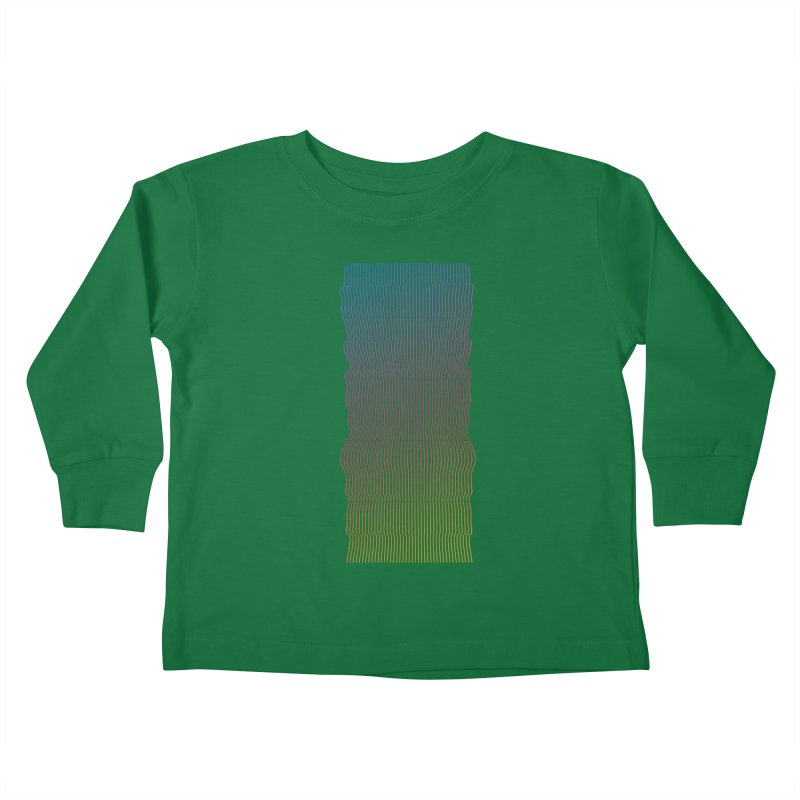 Sonic Neon 2 Kids Toddler Longsleeve T-Shirt by zeroing 's Artist Shop