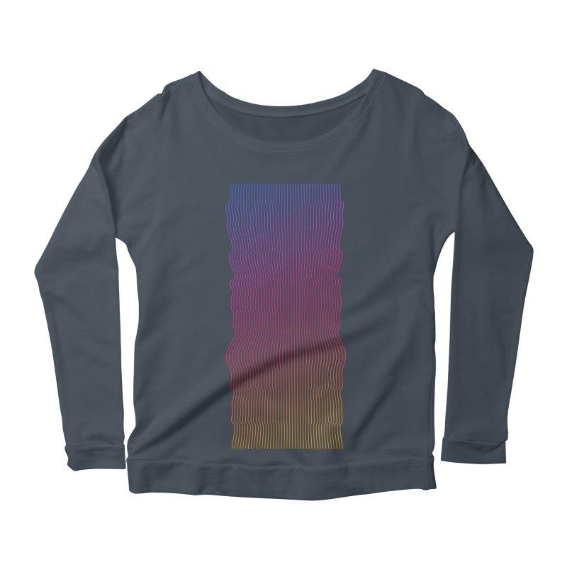 Sonic Neon 2 Women's Scoop Neck Longsleeve T-Shirt by zeroing 's Artist Shop