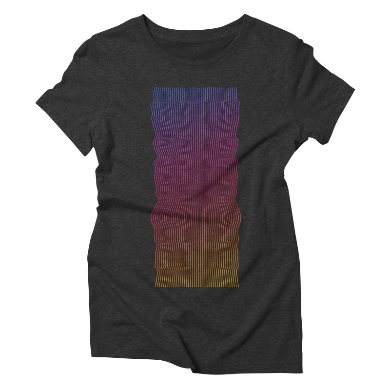 Sonic Neon 2 Women's Triblend T-Shirt by zeroing 's Artist Shop
