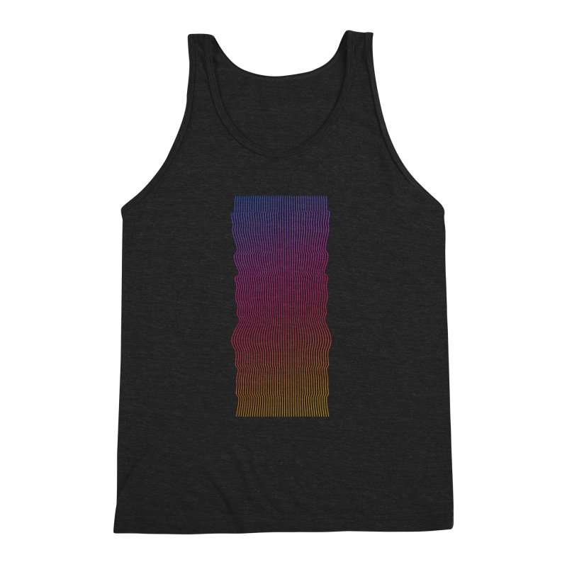 Sonic Neon 2 Men's Triblend Tank by zeroing 's Artist Shop