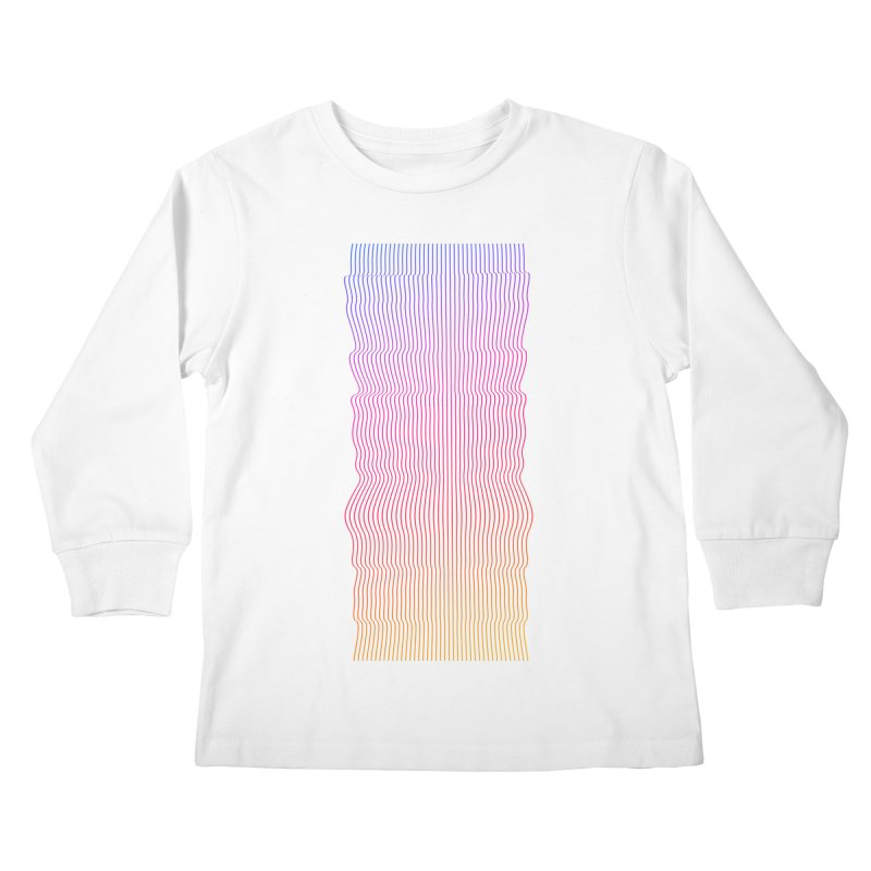 Sonic Neon 2 Kids Longsleeve T-Shirt by zeroing 's Artist Shop
