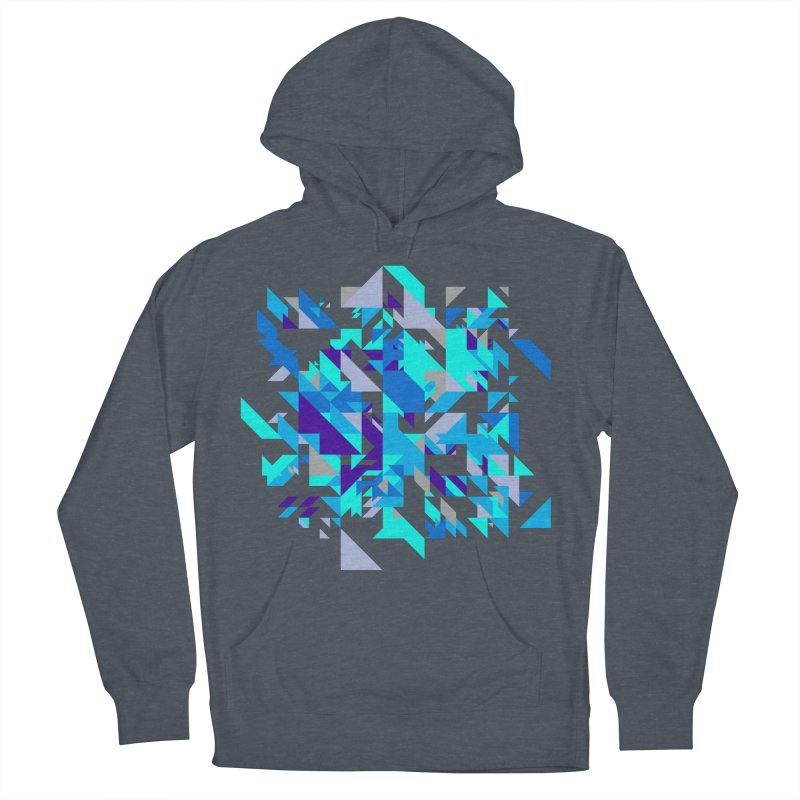 Coldest City Men's French Terry Pullover Hoody by zeroing 's Artist Shop