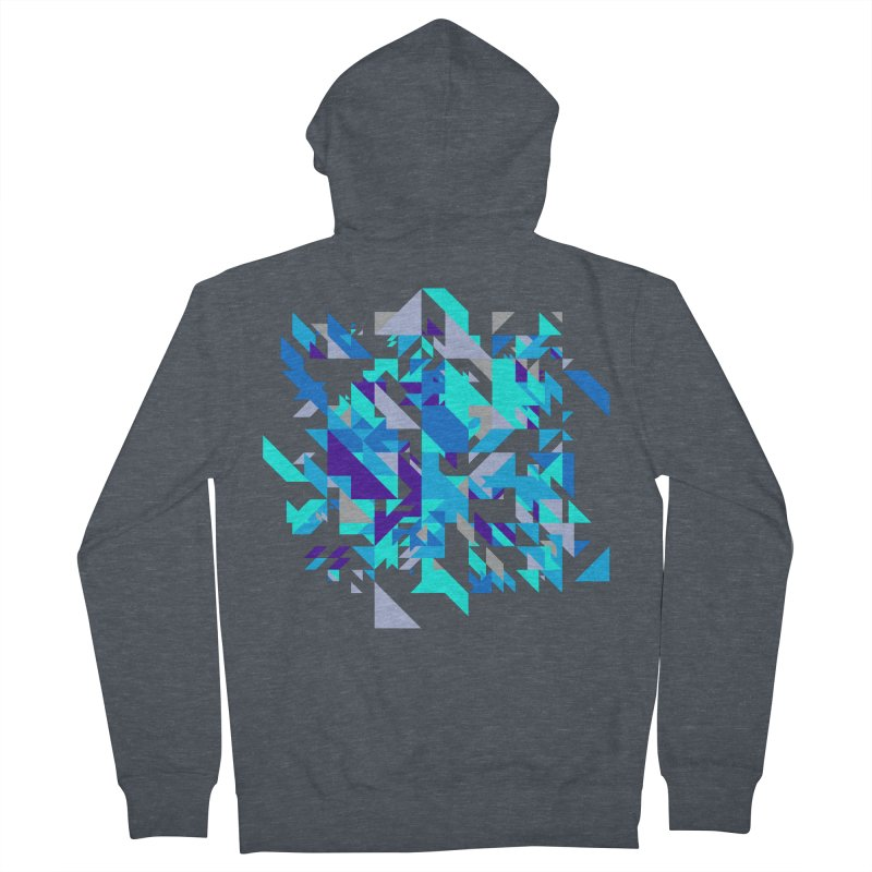 Coldest City Men's French Terry Zip-Up Hoody by zeroing 's Artist Shop