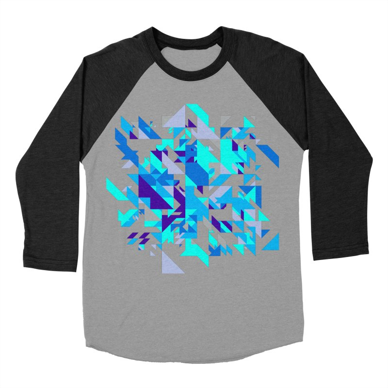 Coldest City Men's Baseball Triblend Longsleeve T-Shirt by zeroing 's Artist Shop