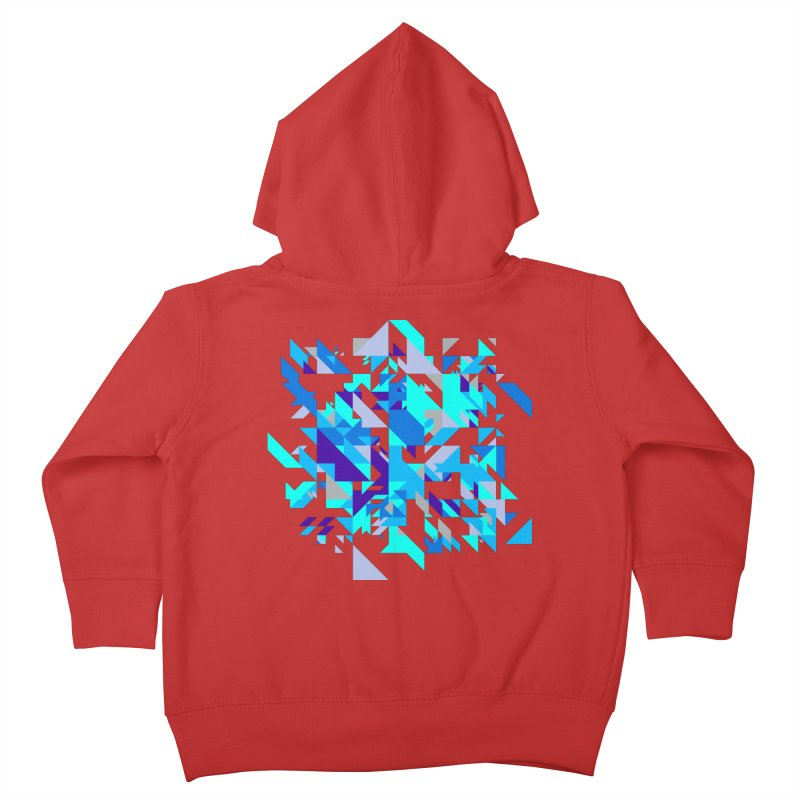 Coldest City Kids Toddler Zip-Up Hoody by zeroing 's Artist Shop