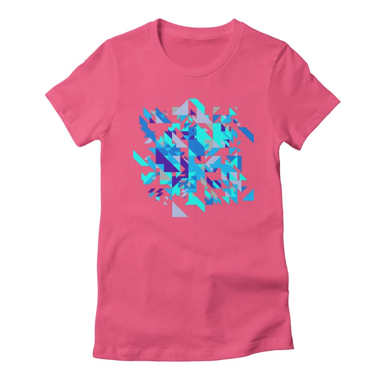 Coldest City Women's Fitted T-Shirt by zeroing 's Artist Shop