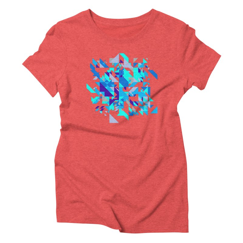 Coldest City Women's Triblend T-Shirt by zeroing 's Artist Shop