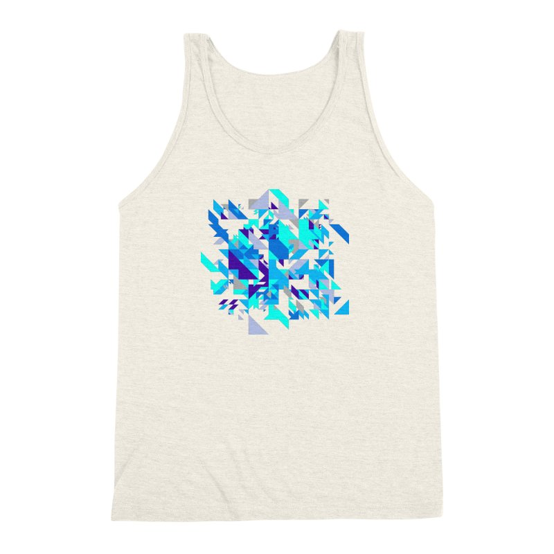 Coldest City Men's Triblend Tank by zeroing 's Artist Shop