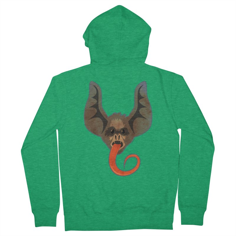Bat Women's Zip-Up Hoody by Zerostreet's Artist Shop