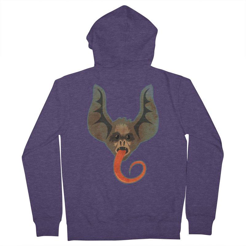 Bat Men's Zip-Up Hoody by Zerostreet's Artist Shop