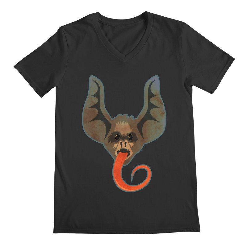 Bat Men's V-Neck by Zerostreet's Artist Shop