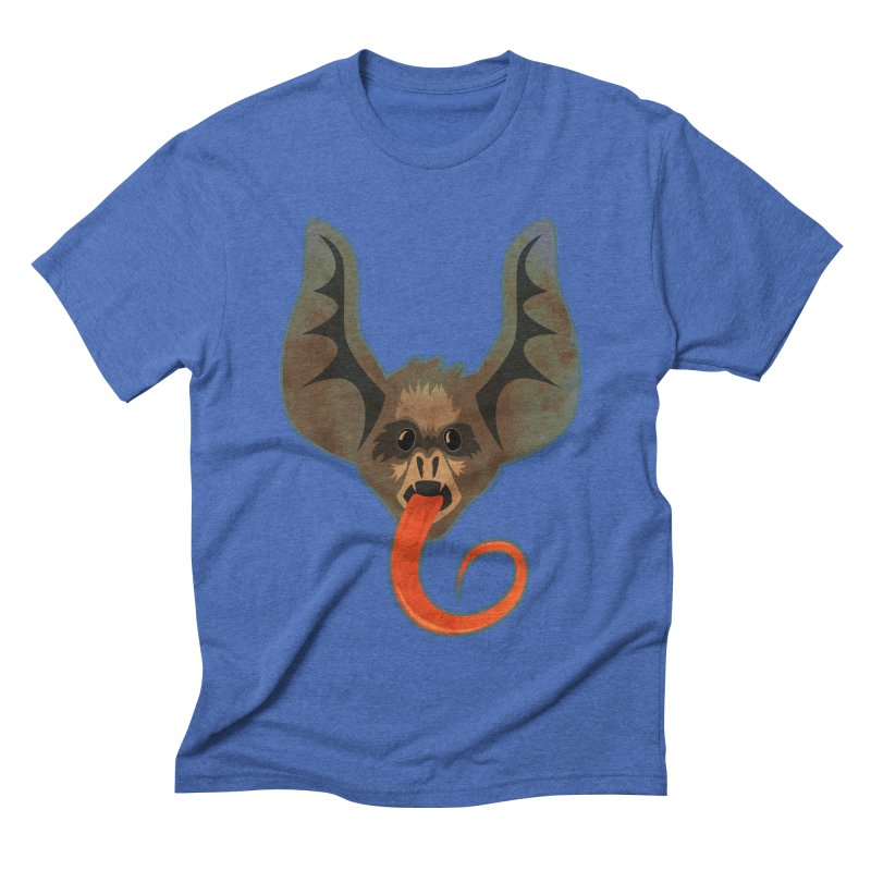 Bat Men's Triblend T-shirt by Zerostreet's Artist Shop