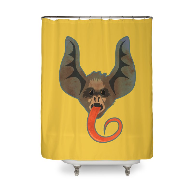 Bat Home Shower Curtain by Zerostreet's Artist Shop