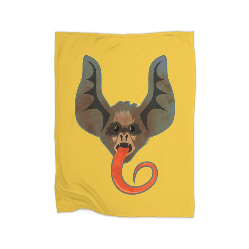 Bat Home Fleece Blanket by Zerostreet's Artist Shop