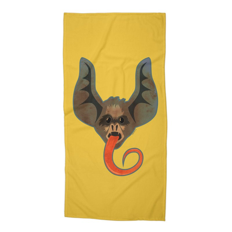 Bat Accessories Beach Towel by Zerostreet's Artist Shop